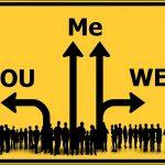 Ik denk dat je net als velen van ons egoïsme als iets negatiefs ziet. Wat gebeurt er met jou als ik tegen jou zeg: