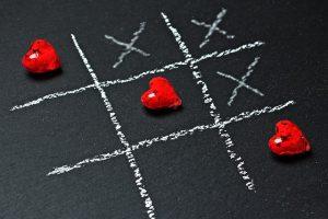 Bij het onderkennen van ons aandeel (i.c. onze schuld) in de negatieve cirkel spelen 2 tegenovergestelde krachten een rol die het ons moeilijk maken.